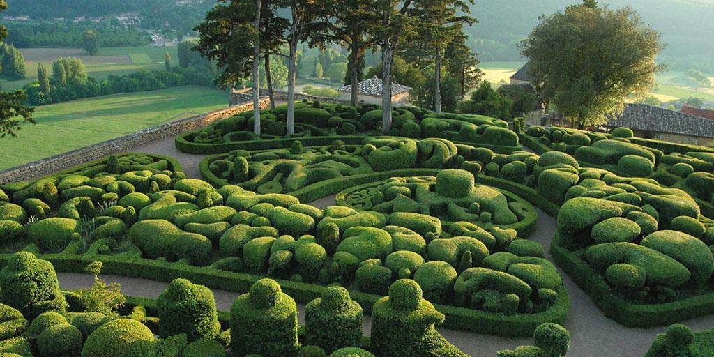 Les jardin suspendus de Marqueyssac